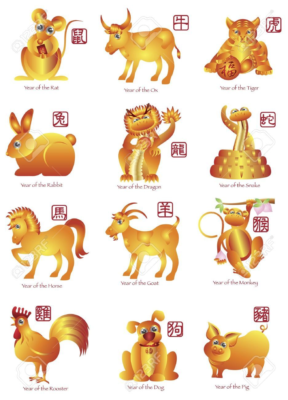 Image result for chinese new year animals zodiac Year of