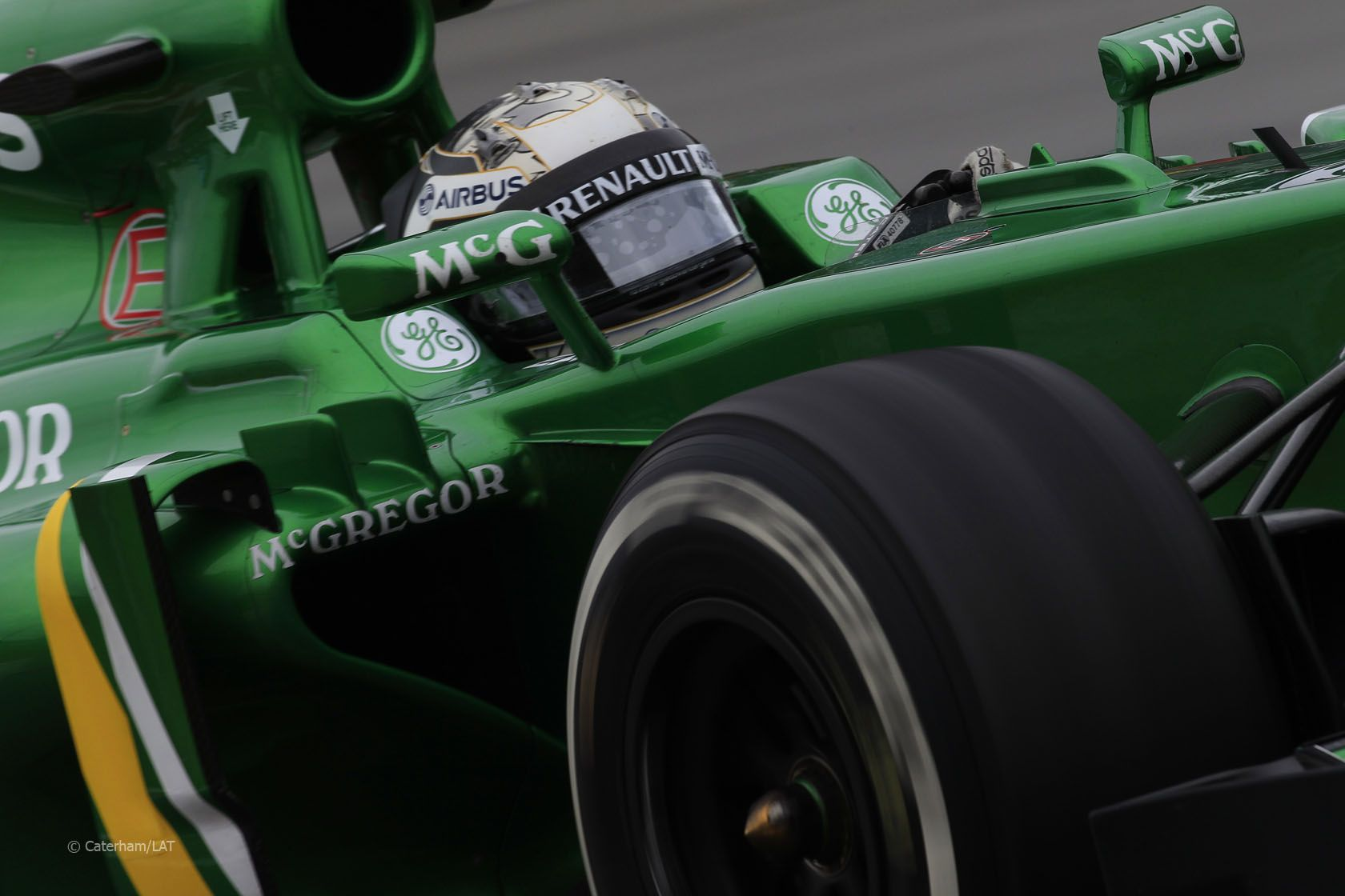 F1 Canada Qualifying - Guido van der Garde (2013)