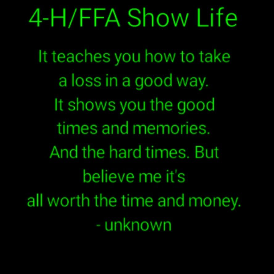 4 H Quotes So True  Livestock Show  Pinterest  Livestock And Cattle