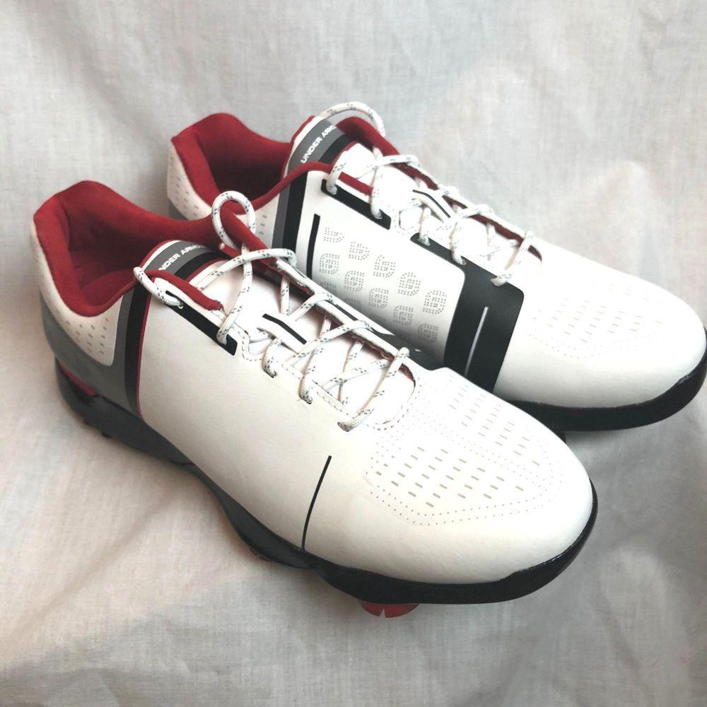 Under Armour Boys Size 7Y UA Jordan Spieth One Jr Golf Shoes Cleats 1301154  NEW  Underarmour  Golf  fe47ee581