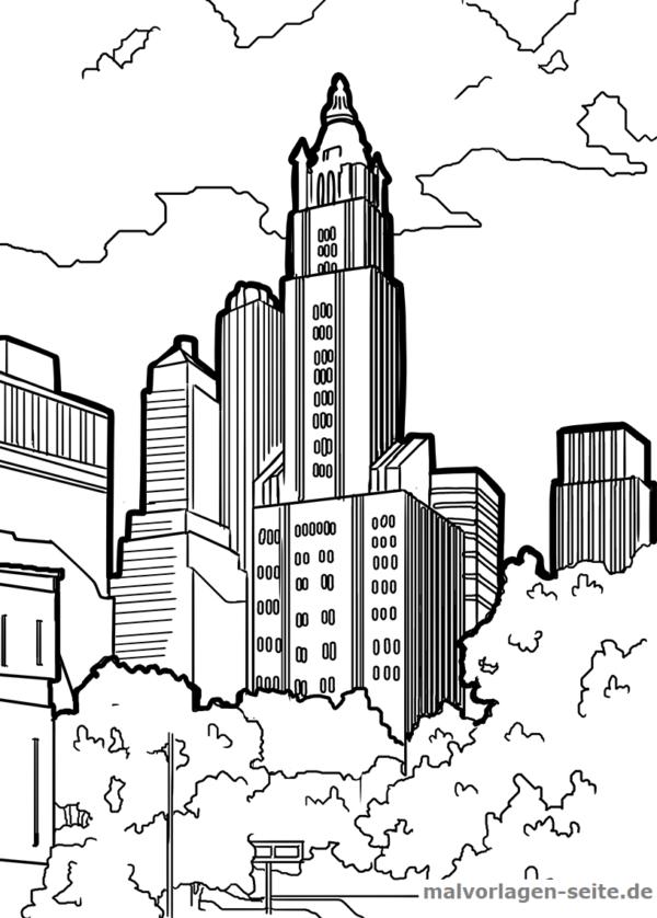 malvorlage tower  coloring and malvorlagan