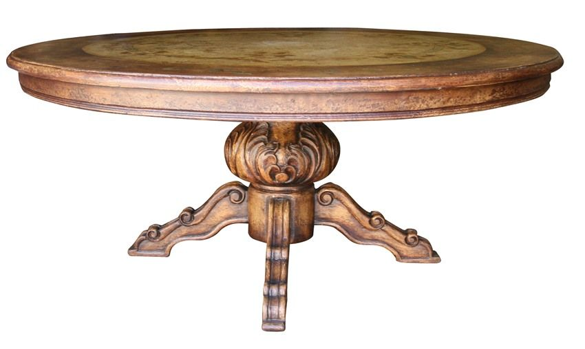 old world rustic 60 pedestal table hand painted quality on hand painted dining room tables id=99005