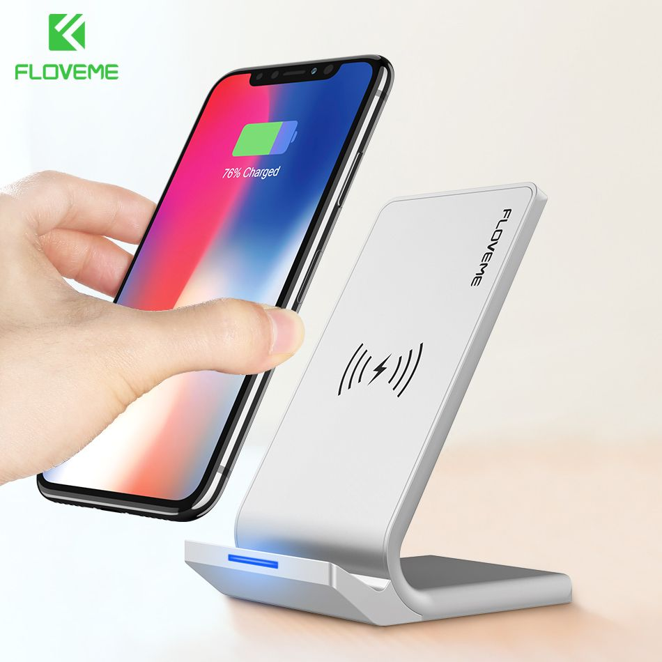 Fashion Style 10w Portable Vertical Double Coil Wireless Charger With Led Indicator Fast Charge For Qi Standard Smart Mobile Phone The Latest Fashion Back To Search Resultsconsumer Electronics