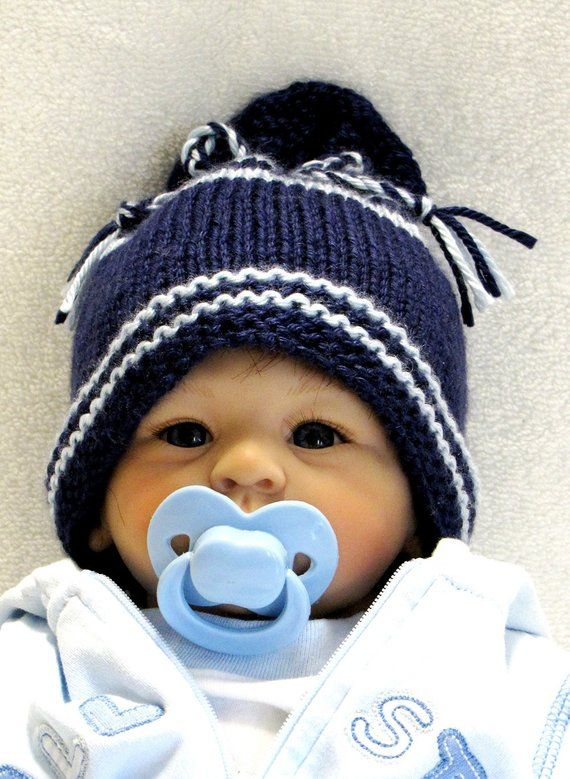 Knitting Pattern Newborn Ez Knit Baby Hat Pattern Great As A