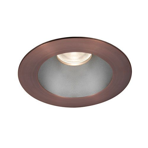 Tesla Haze Copper Bronze 3.5-Inch Pro LED Trim with 55 Degree Beam, 3000K