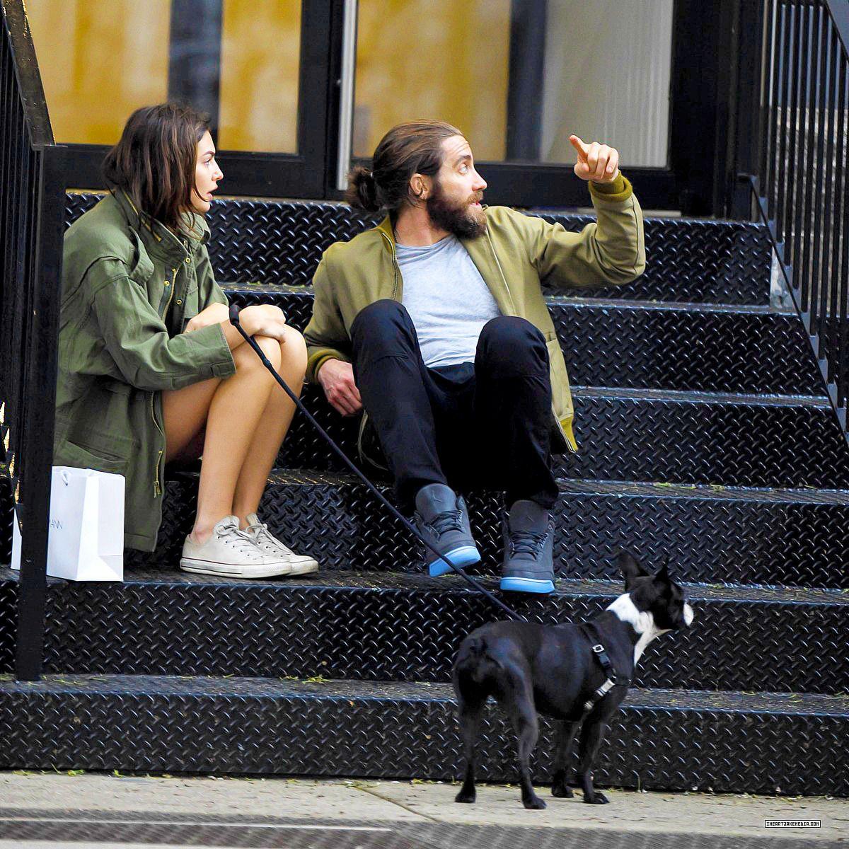 Jake Gyllenhaal + Alyssa Miller