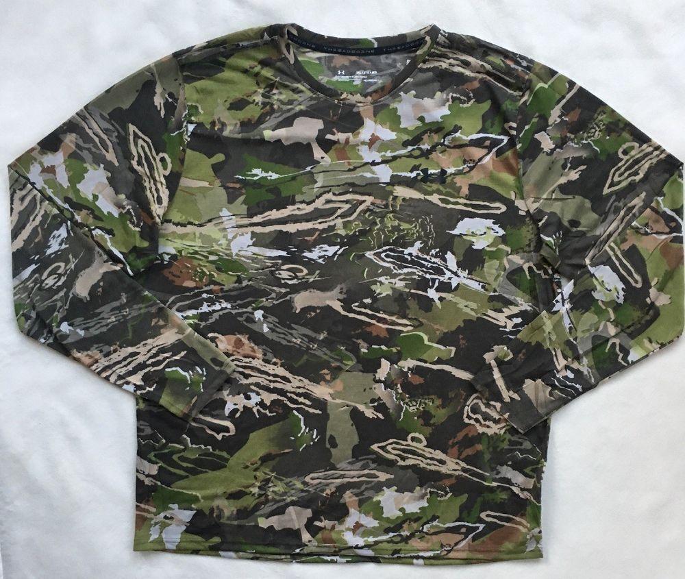 UNDER ARMOUR Men/'s UA Threadborne Early Season Hunting Shirt NWT Size XL