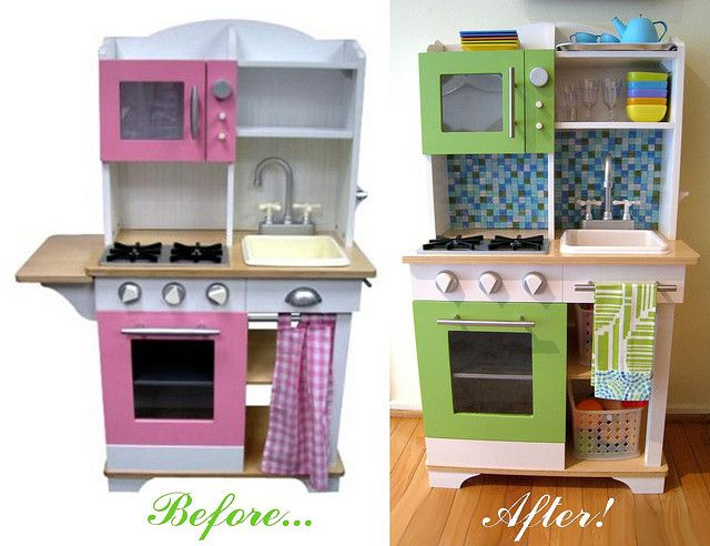 Oliver S Kitchen Before After Kids Play Kitchen Wish Kids