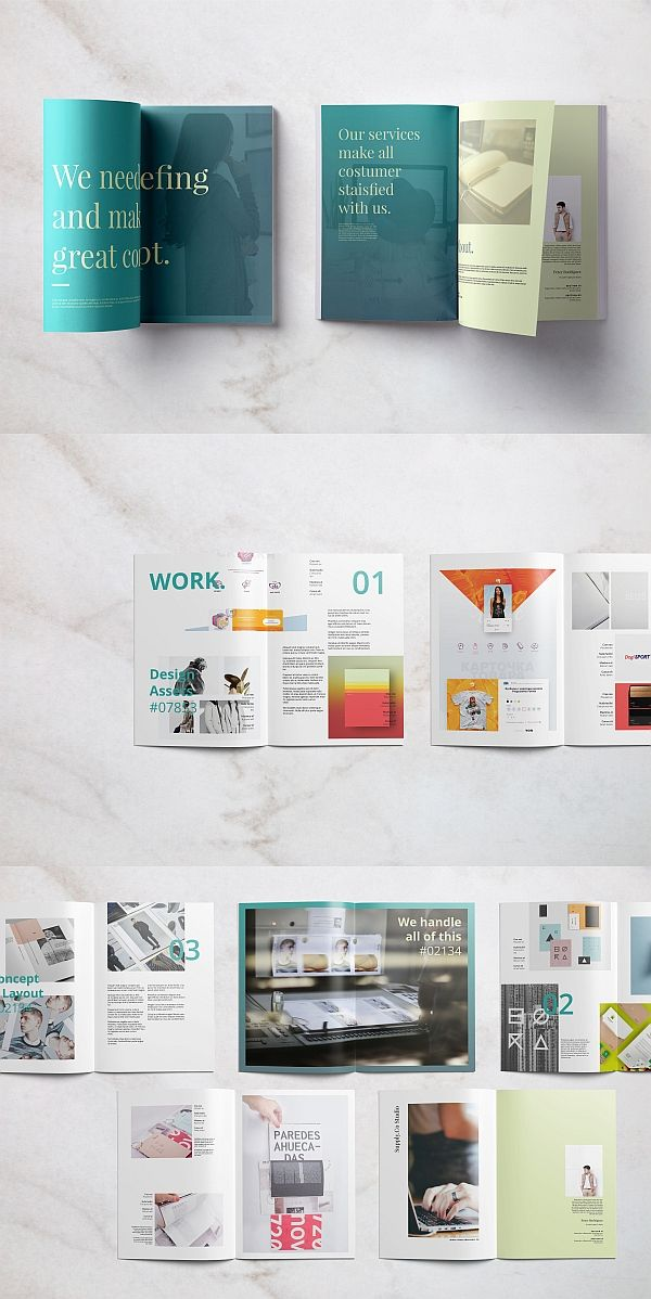 untitled portfolio brochure templates pinterest brochure