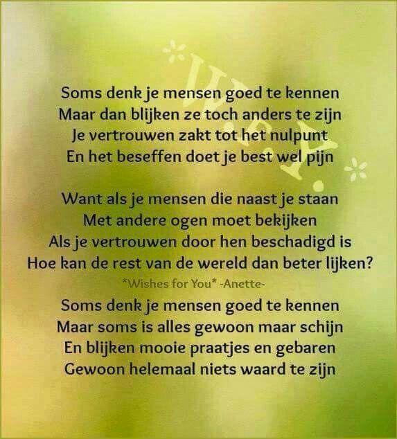 Citaten Over Vertrouwen : Vertrouwen nederlandse teksten citaten mooie gedichten spreuken