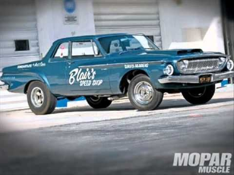 A Video Slide Show Of The Epic Drag Race Between The 62 413 Dodge