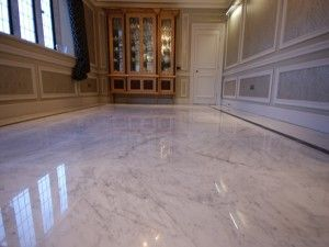 How To Recoat Dull Marble To Make It Shine In Miami Using String - Marble floor shiner
