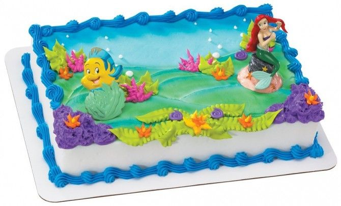 Kroger Mermaid Cake