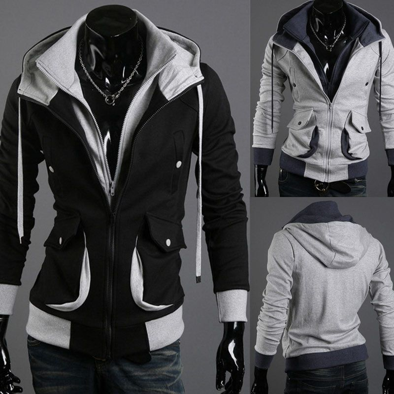eb0f492c94ba Men s Assassin s Creed Slim Costume Hoodie Sweatershit Coat Jacket Top  cool-inHoodies   Sweatshirts from Apparel   Accessories on Aliexpress.com