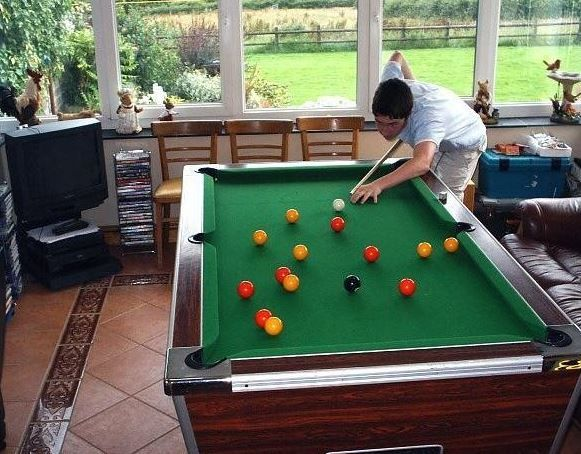 Green Grove Farm Bed And Breakfast Canaston Bridge Narberth - Travel pool table