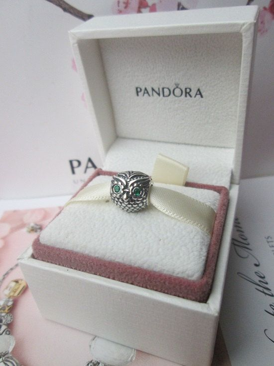 Pandora Wise Owl Charms
