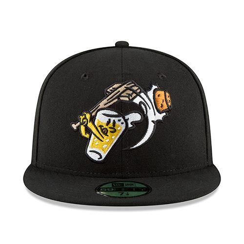 big sale 0f00a 5ca36 August 4, 2018 Beer City Bung Hammers Fitted Cap, West Michigan Whitecaps