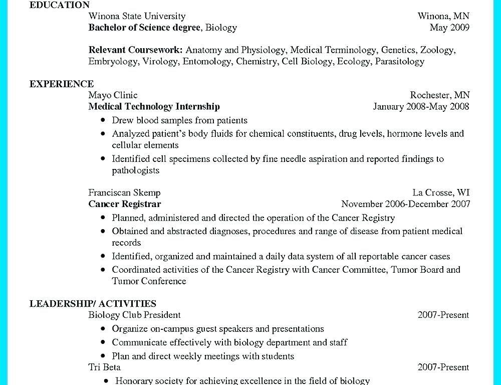 Resume Format For Zoology Lecturer Resume Format Pinterest