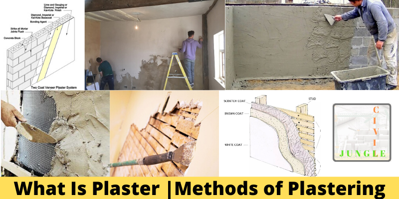 What Is Plaster Methods Of Plastering Plaster Wooden Plugs Expanded Metal