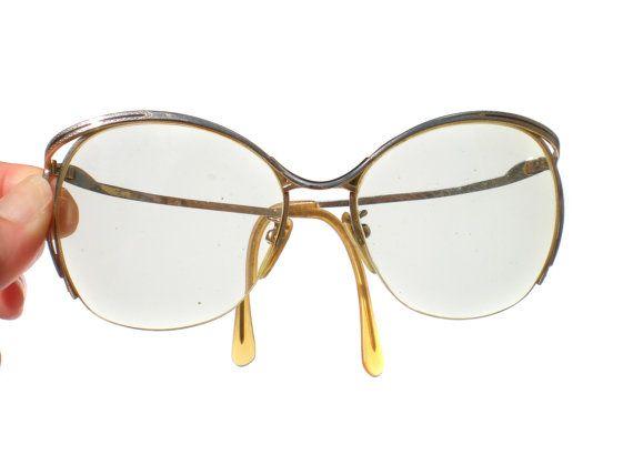 c4910085e0de 80s Glasses Tura Designer with Large Prescription Lenses Hipster Nerd  Womans - Vintage Accessories Eyeglass Frames
