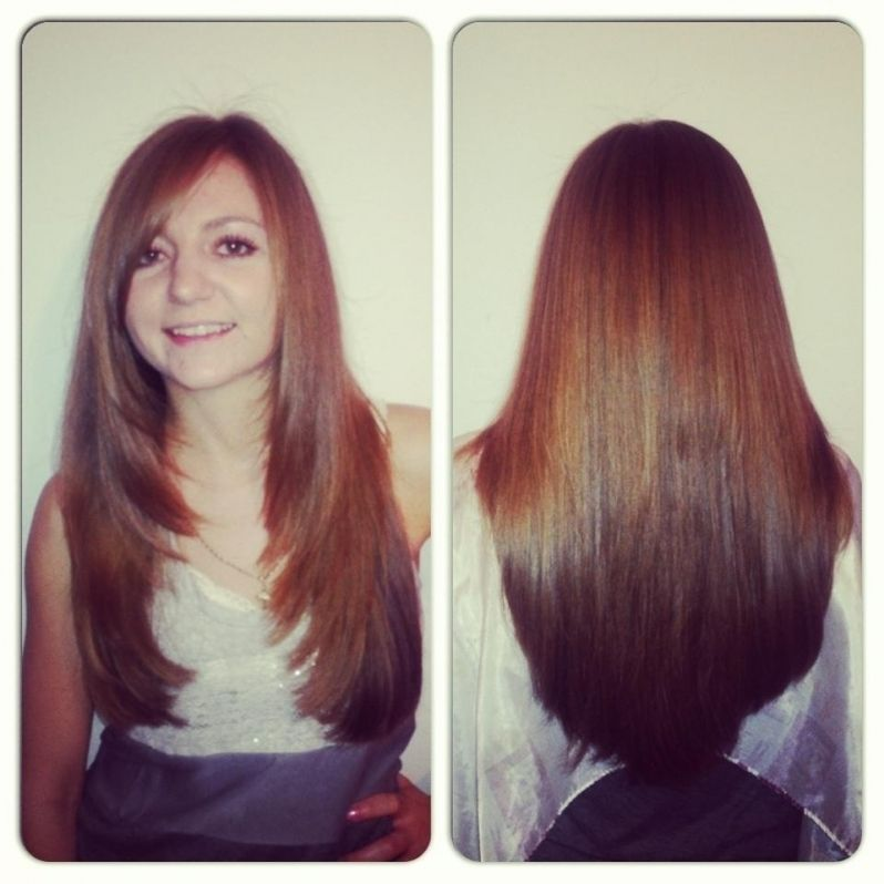 Layered Haircuts For Long Hair Front And Back View 2017 Long Hair Styles Front Hair Styles Long Layered Hair