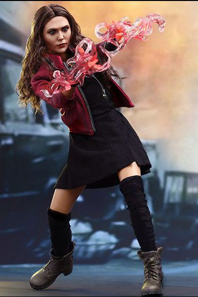 1 6 Scale Avengers Age Of Ultron Movie Masterpiece Figure Scarlet Witch By Hot Toys Scarlet Witch Marvel Figure Hot Toys