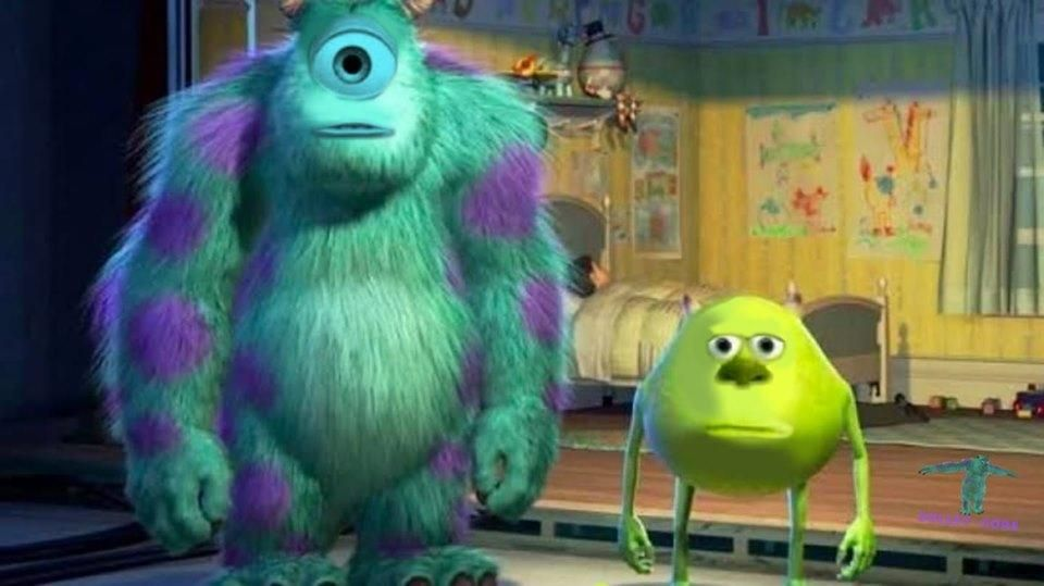 Mike Wazowski Sulley Face Swap Template 1 Mike Wazowski Sulley Face Swap Funny Face Swap Face Swaps Funny Memes