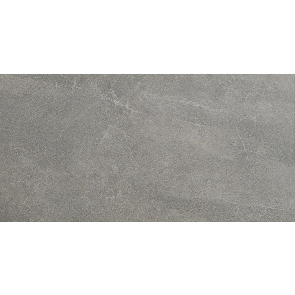 Us ceramic tile avila 24 in x 12 in gris porcelain floor and us ceramic tile avila 24 in x 12 in gris porcelain floor and wall dailygadgetfo Images
