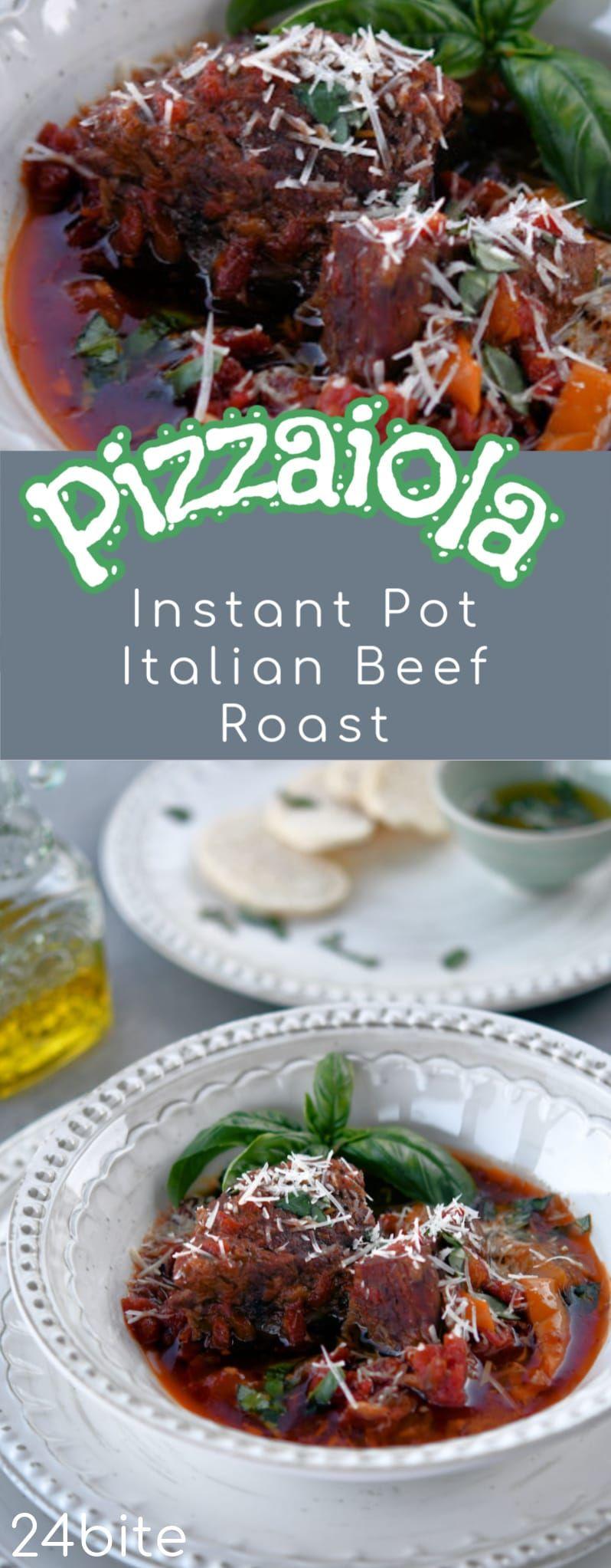 Photo of Instant Pot Beef Pizzaiola Recipe | 24Bite® Recipes