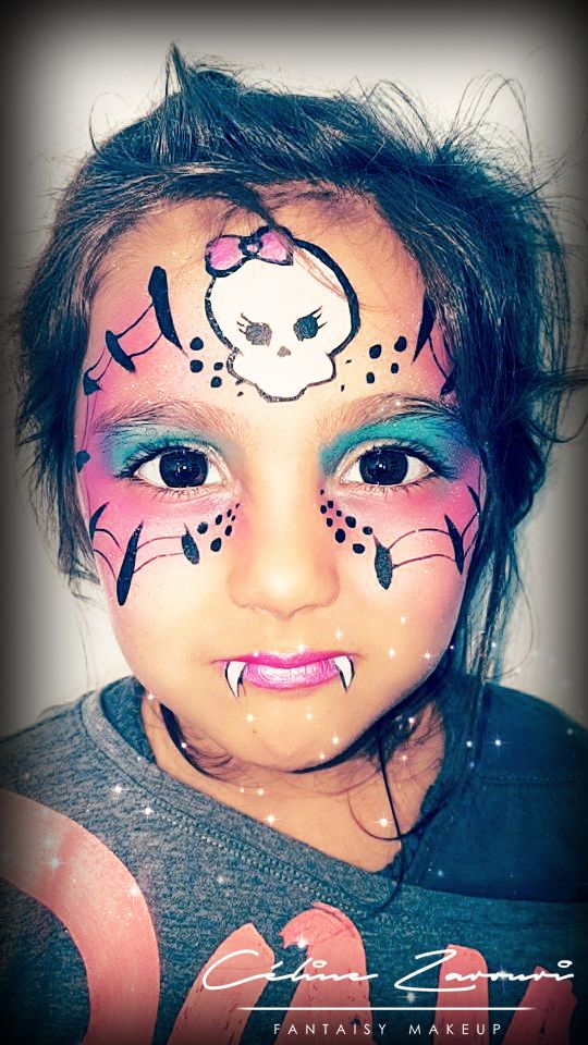 halloween makeup - face painting Maquillage Artistique - FANTAISY - face painting halloween makeup ideas
