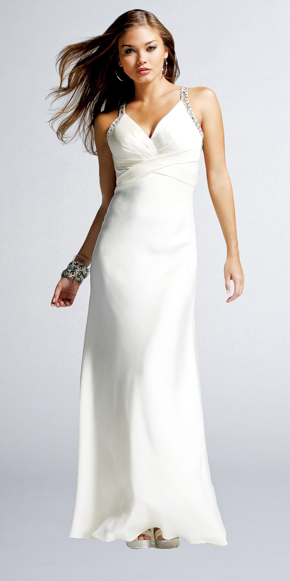 Jeweled back evening gowns by faviana just wedding dresses