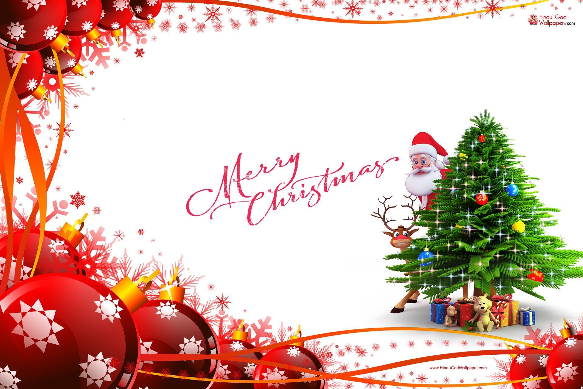 Cute Christmas Hd Wallpaper Free Download Merry Christmas