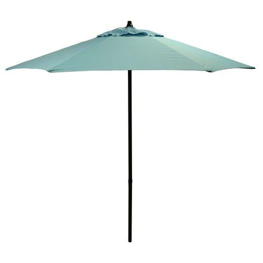 7.5u0027 Round Patio Umbrella Solid   Room Essentials™ : Target