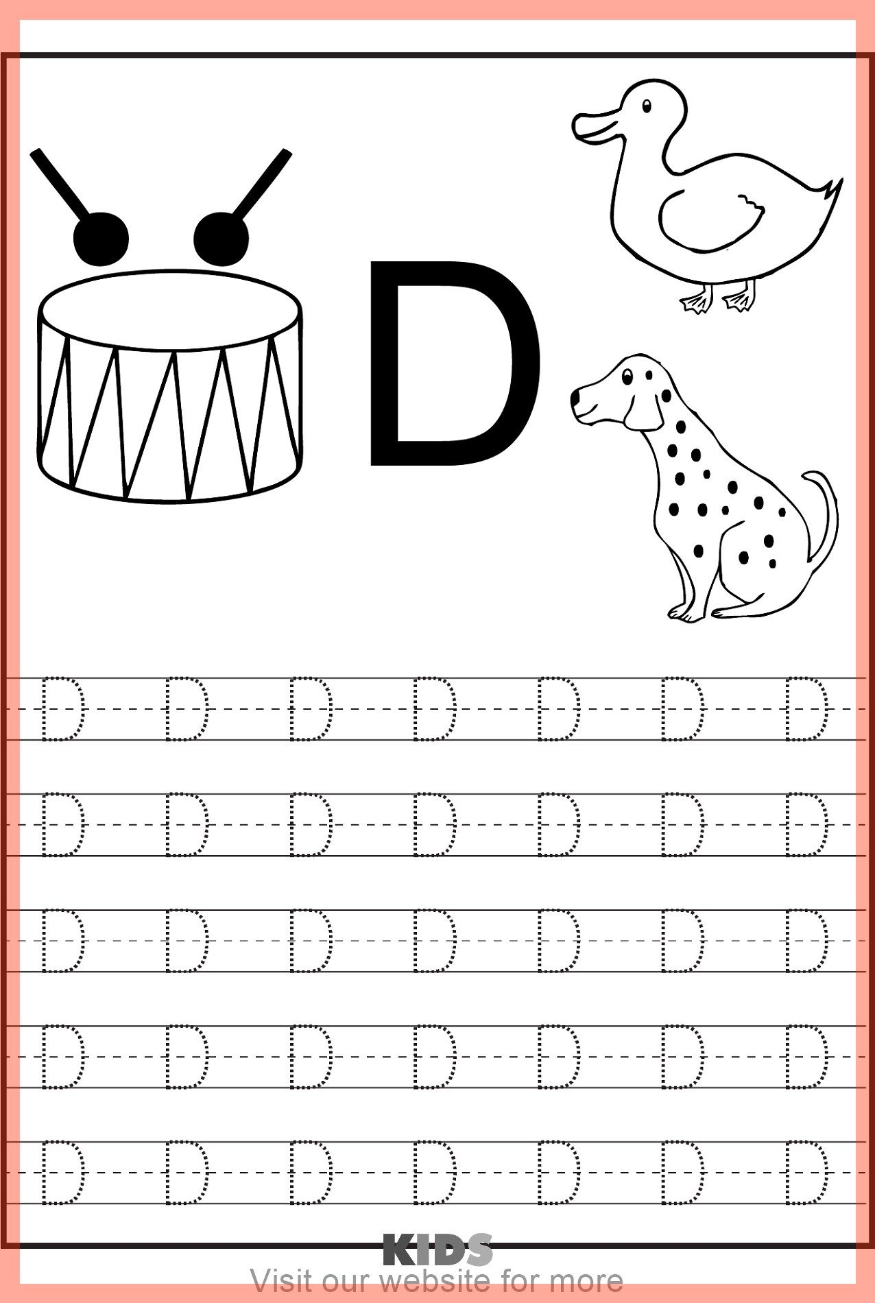 Sight Word Worksheet For Kids Best In