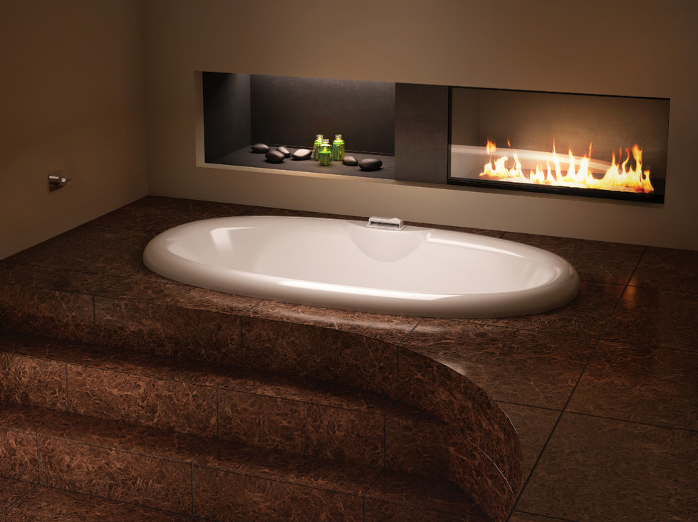 Luxurious Meridian ELLIPSE 7842 Bathtub From @BainUltra. Available In Two  Product Categories: ThermoMasseur