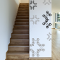 Wrought Iron Works Wall Decals in Black and Pebble
