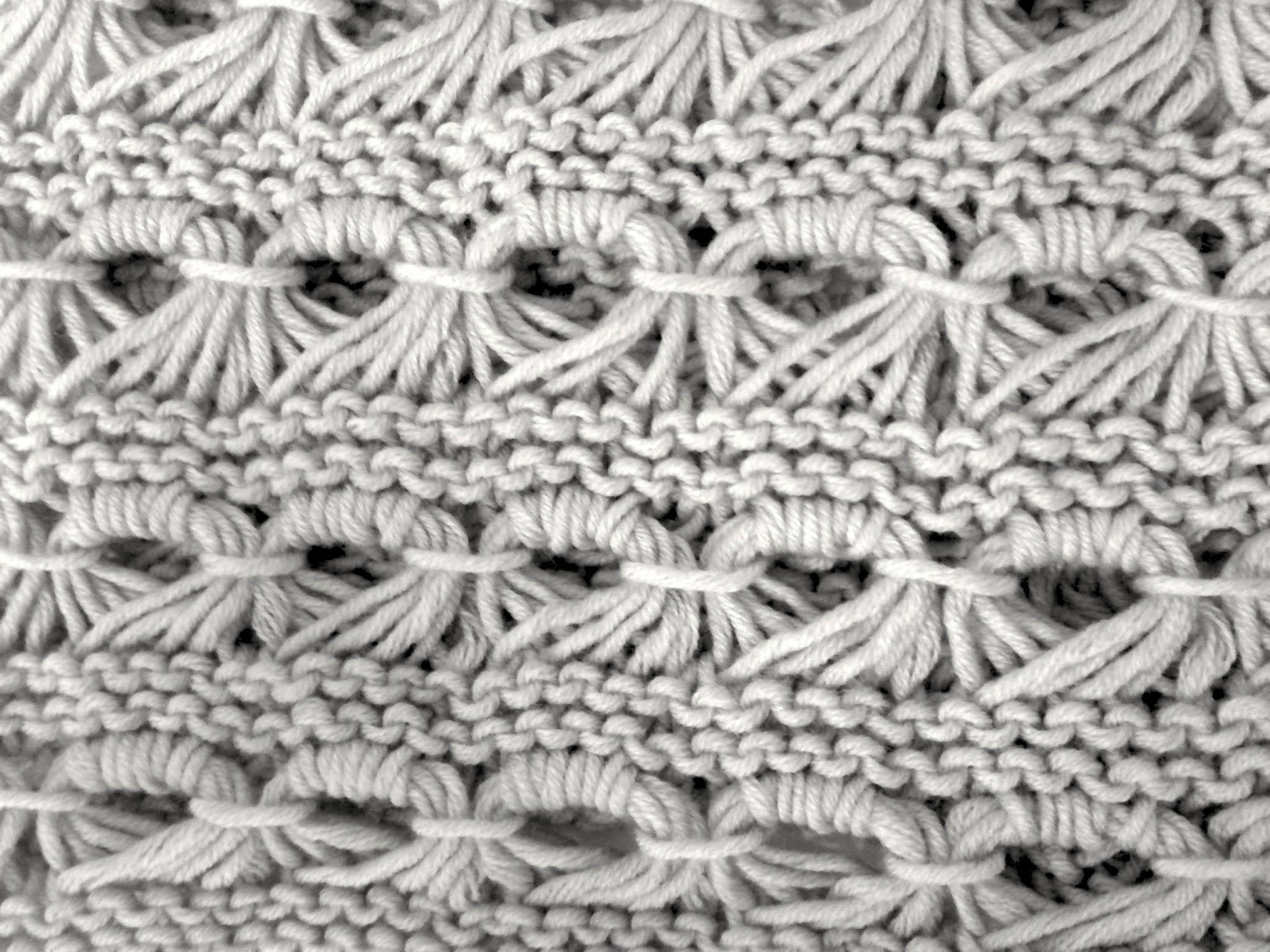 Patrón cuello de lana con punto caracol | lana | Pinterest | Cuellos ...
