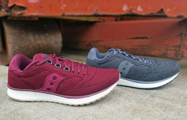 0cc852ceb9 Fashion and function combine in the saucony Freedom Runner Wool ...