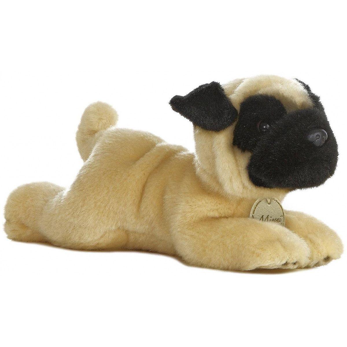 Aurora MiYoni Pug Plush dog, Teddy bear stuffed animal