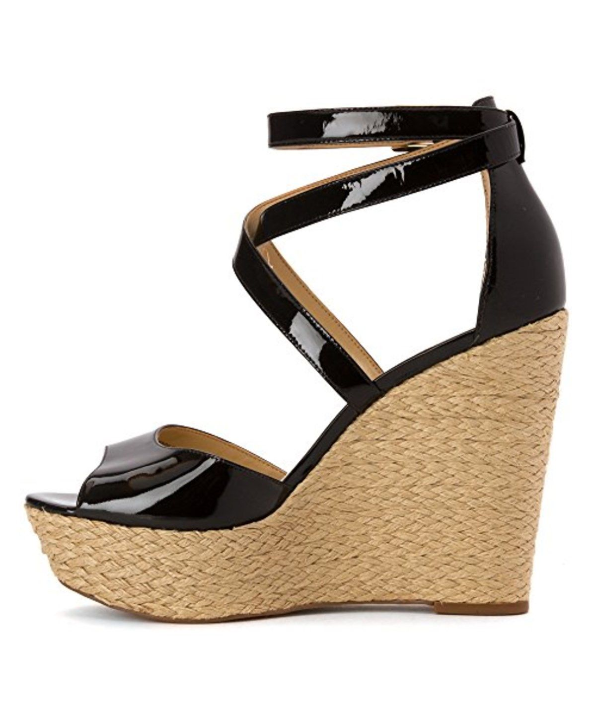 MICHAEL MICHAEL KORS Michael Michael Kors Gabriella Espadrille Wedge Sandals'. #michaelmichaelkors #shoes #sandals