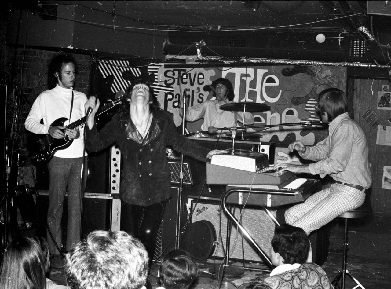 The Doors at The Scene, June 27, 1967 in New York City