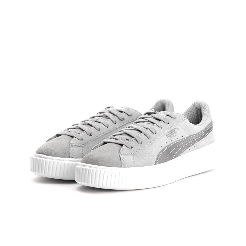 puma sneaker platform grau