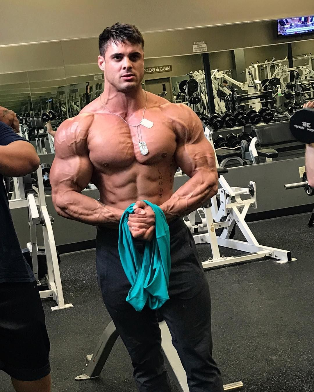Logan Franklin Is Growing Fast Fitness Motivation Young Fitness Model Gym Plan