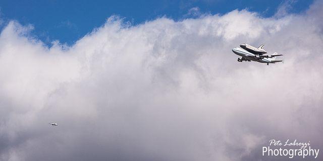 Space Shuttle Enterprise and Escort by Pete Labrozzi, via Flickr