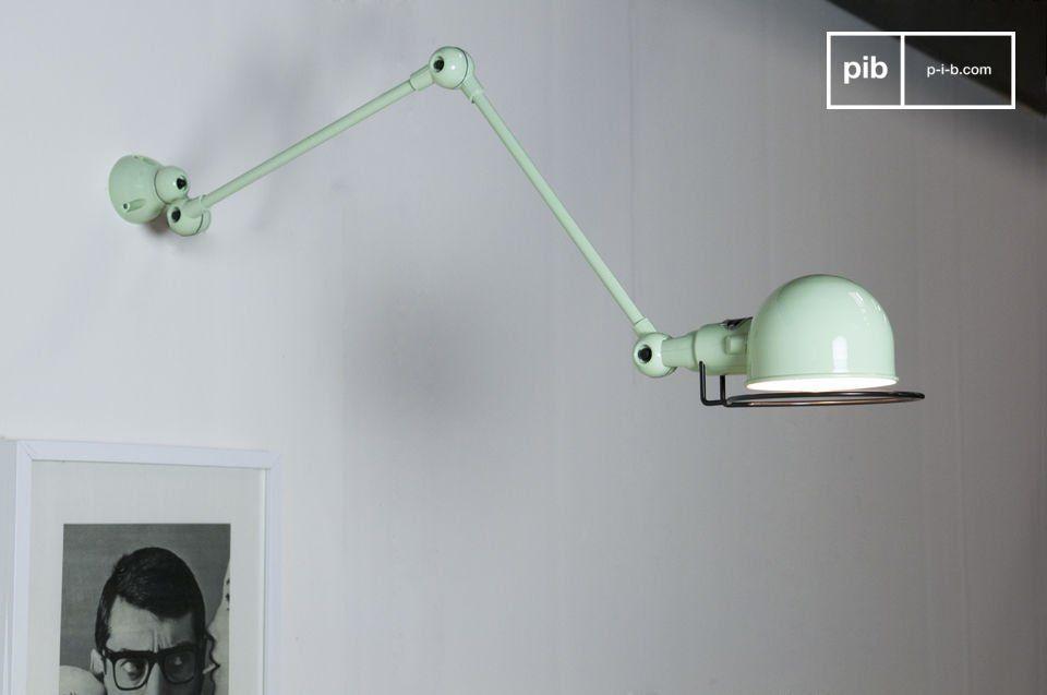 Water green jielde signal wall lamp dorset applique jielde