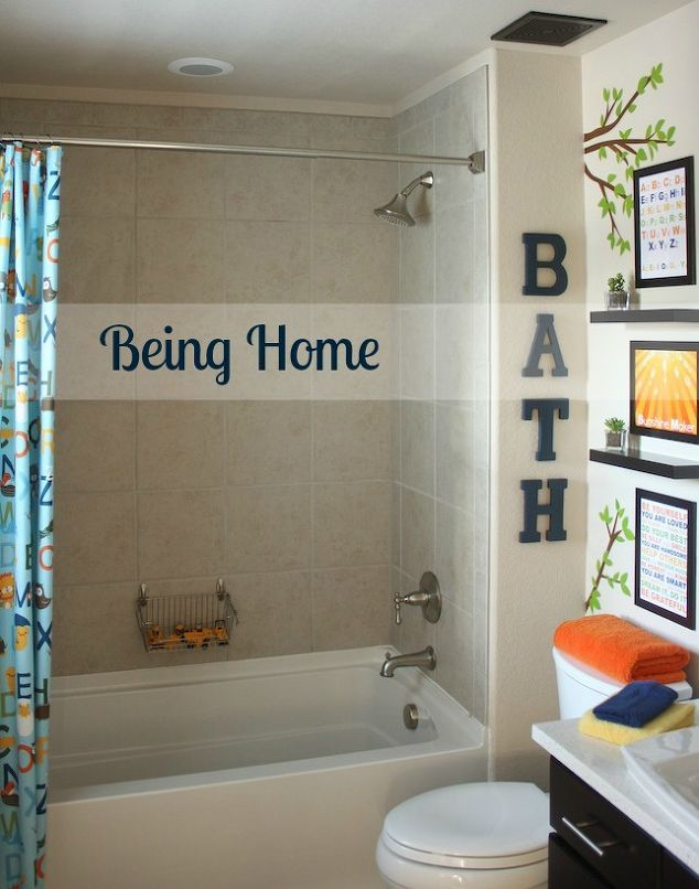 Unique And Colorful Kids Bathroom Ideas Furniture And Other - Teen bathroom sets for small bathroom ideas