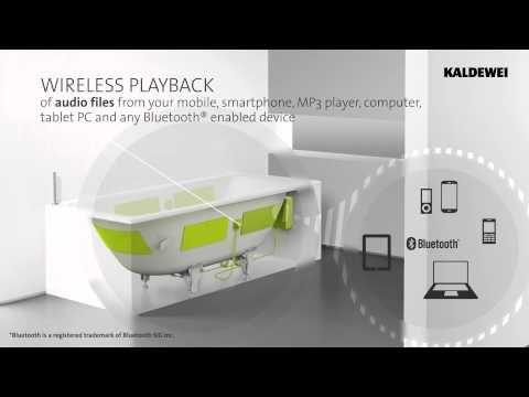 Beau Kaldewei Sound Wave EN   The Innovative Bathroom Audio System