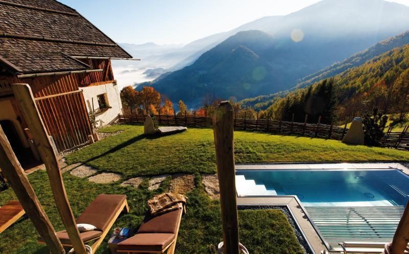 luxus ferienhaus mieten ferienvilla san lorenzo mountain lodge italy north italy. Black Bedroom Furniture Sets. Home Design Ideas
