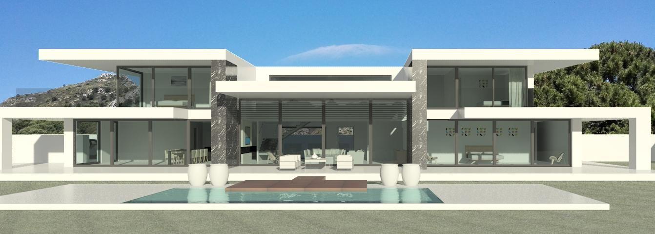 plan maison ultra moderne