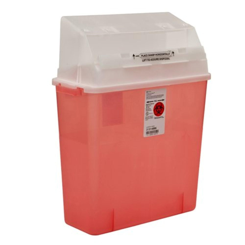 SharpsAGator Sharps Container, Counterbalance Lid